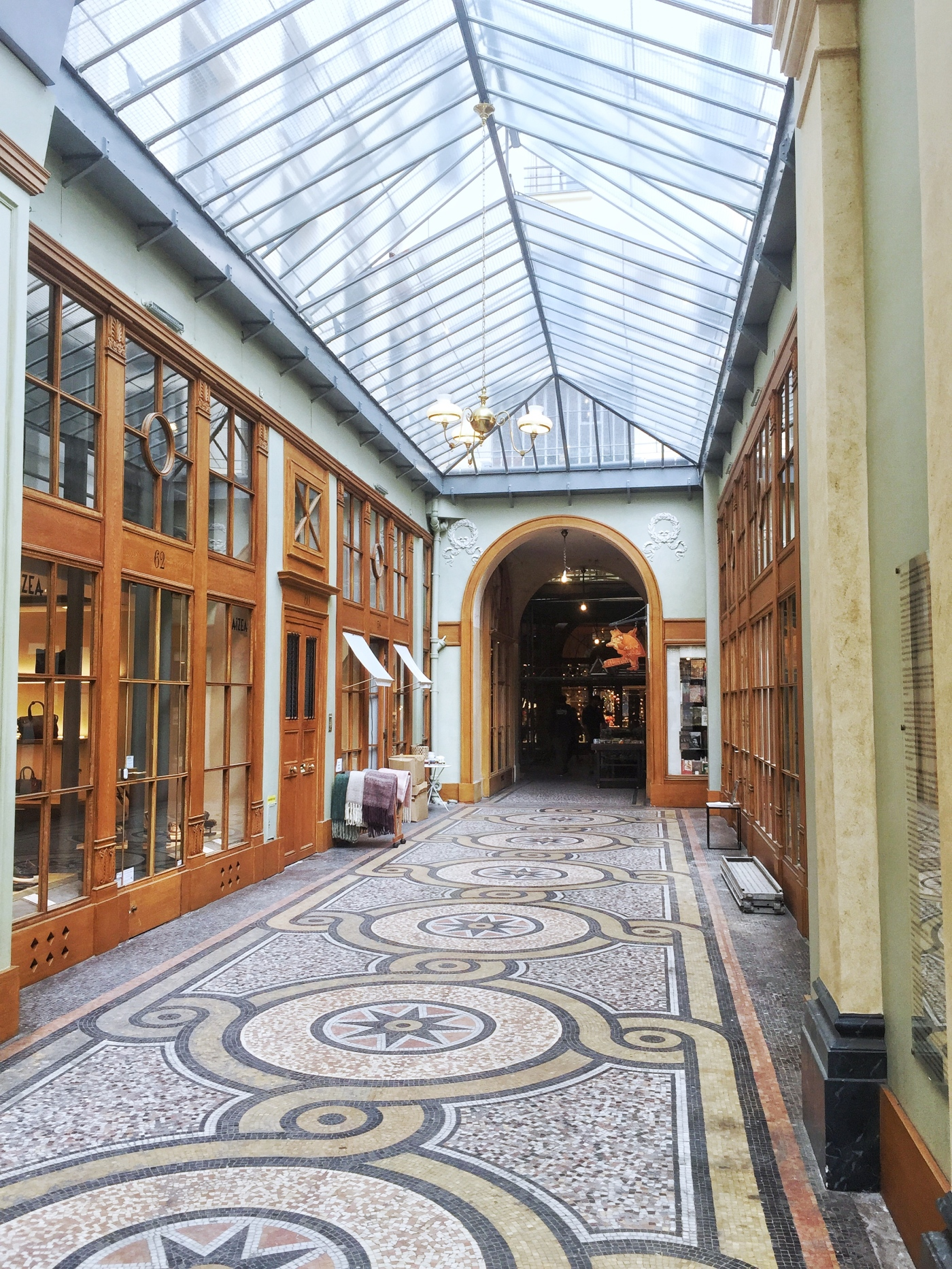 Galerie Vivienne passages couverts places to see in Paris 2