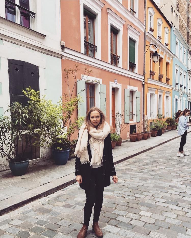 Paris rue cremieux Estelle